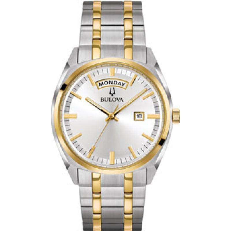 Японские наручные  мужские часы Bulova 98C127. Коллекция Classic