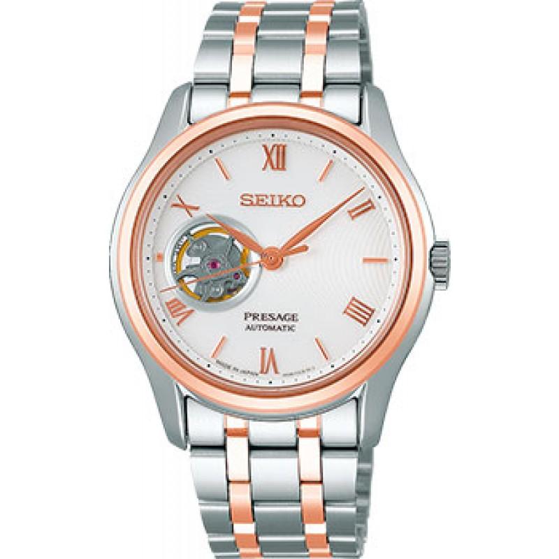 Японские наручные  мужские часы Seiko SSA412J1. Коллекция Presage