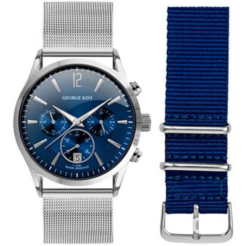 fashion наручные  мужские часы George Kini GK.12.1.3R.21. Коллекция Gents Collection