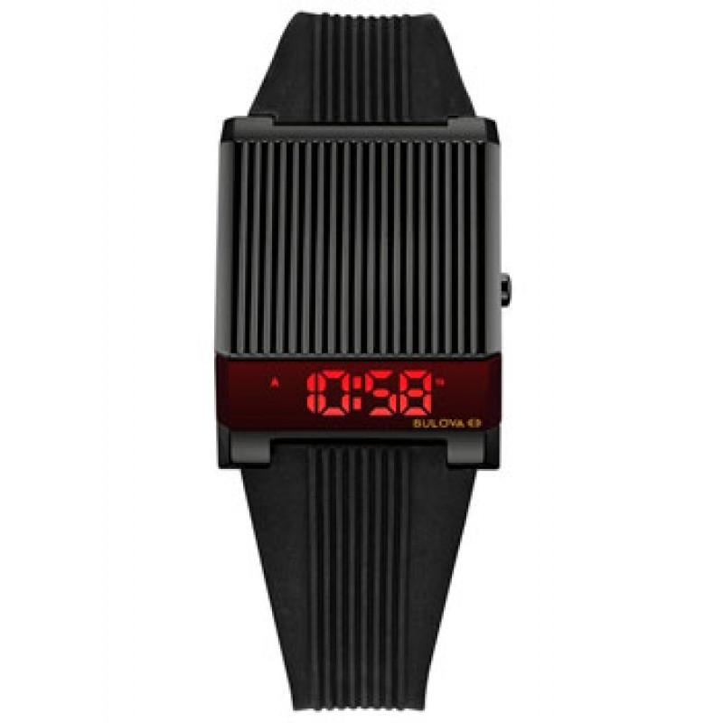 Японские наручные  мужские часы Bulova 98C135. Коллекция Computron