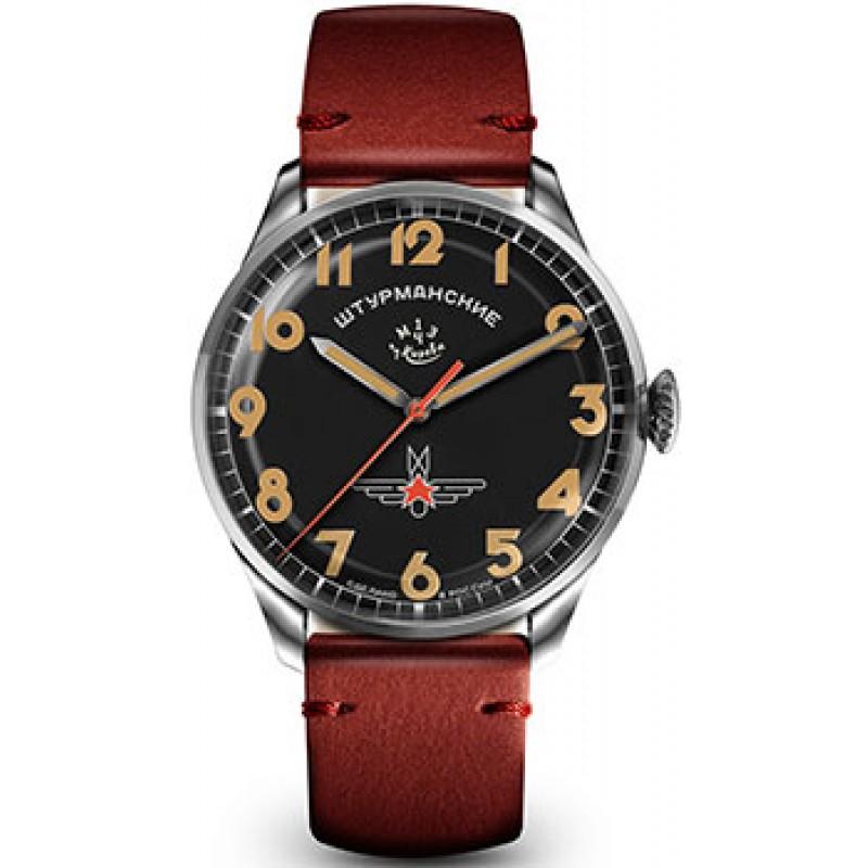 Российские наручные  мужские часы Sturmanskie 2416-3805147. Коллекция Гагарин