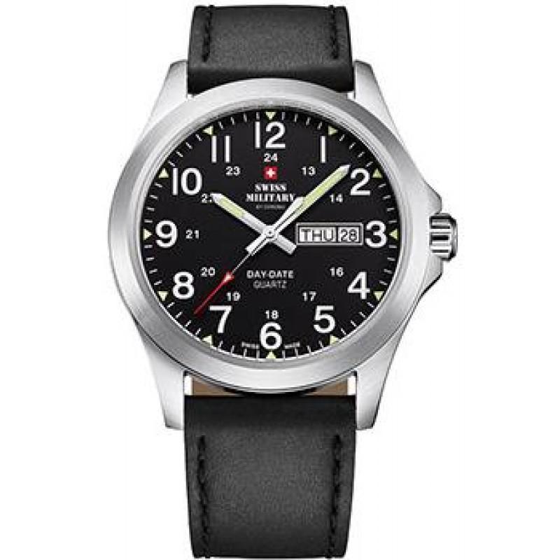 Швейцарские наручные  мужские часы Swiss military SMP36040.15. Коллекция Day Date