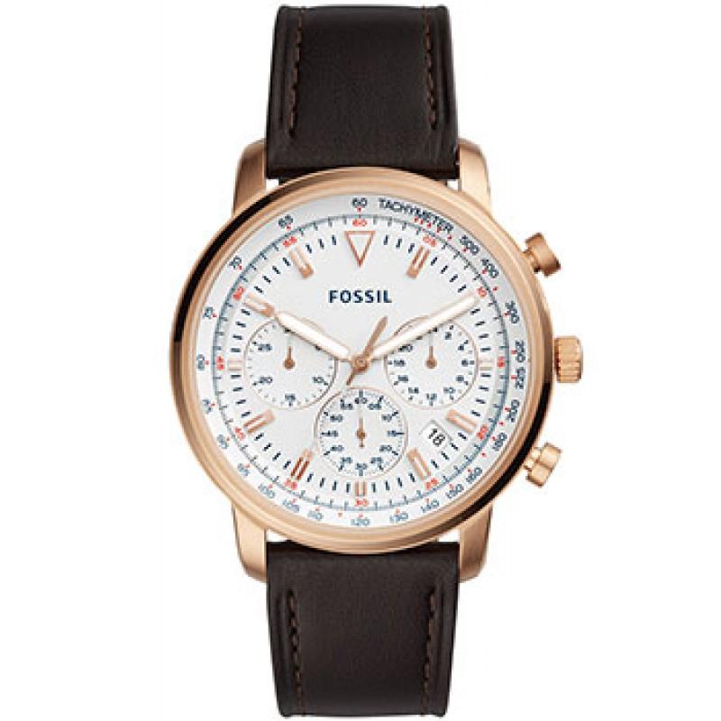 fashion наручные  мужские часы Fossil FS5415. Коллекция Goodwin