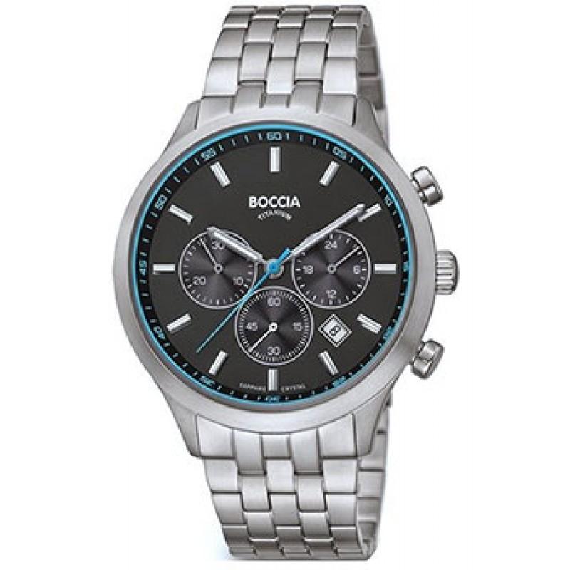 Наручные  мужские часы Boccia 3750-04. Коллекция Sport
