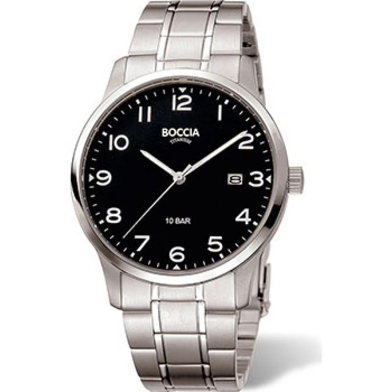 Наручные  мужские часы Boccia 3621-01. Коллекция Titanium