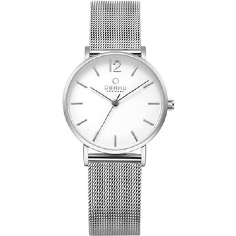 fashion наручные  женские часы Obaku V197LXCWMC. Коллекция Mesh