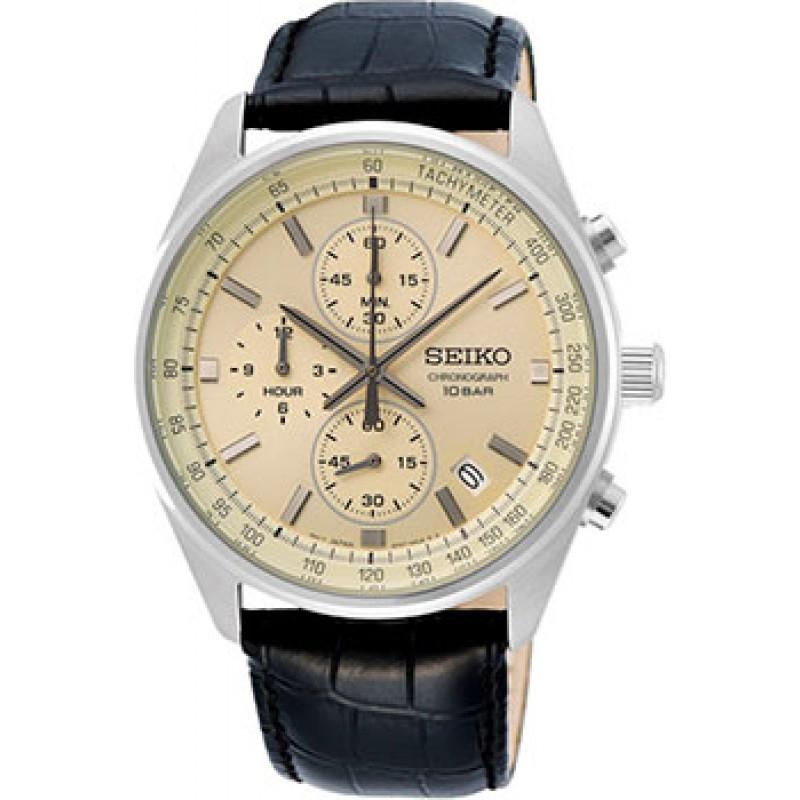 Японские наручные  мужские часы Seiko SSB383P1. Коллекция Conceptual Series Dress