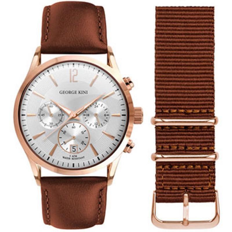 fashion наручные  мужские часы George Kini GK.12.3.1R.112. Коллекция Gents Collection