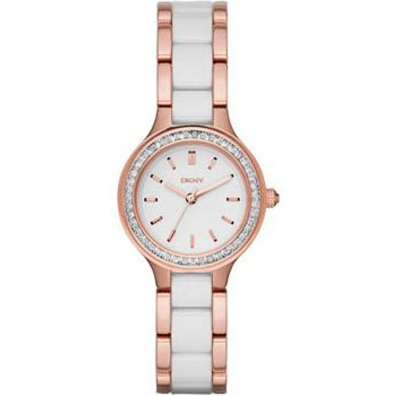 fashion наручные  женские часы DKNY NY2496. Коллекция Chambers