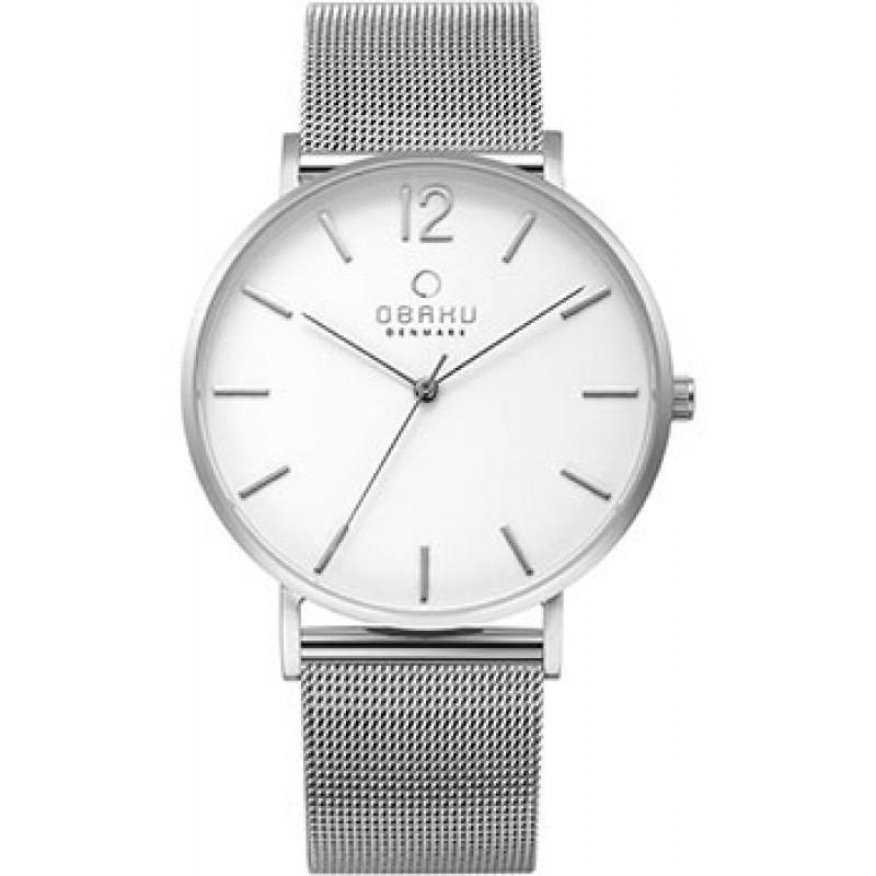 fashion наручные  мужские часы Obaku V197GXCWMC. Коллекция Mesh