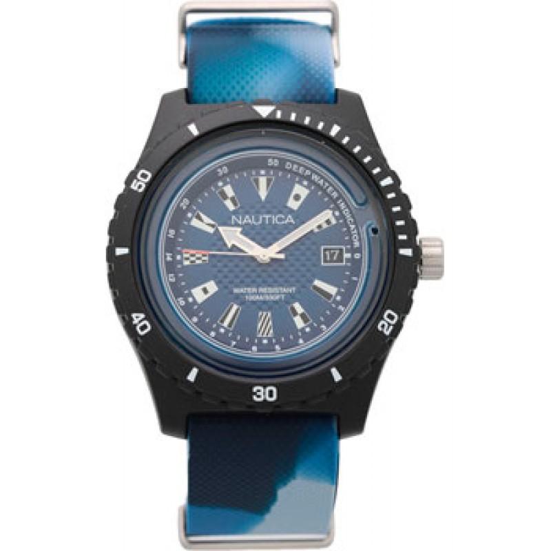 Швейцарские наручные  мужские часы Nautica NAPSRF004. Коллекция Surfside