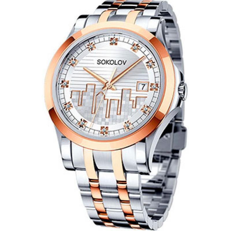 fashion наручные  женские часы Sokolov 303.76.00.000.05.02.2. Коллекция My world