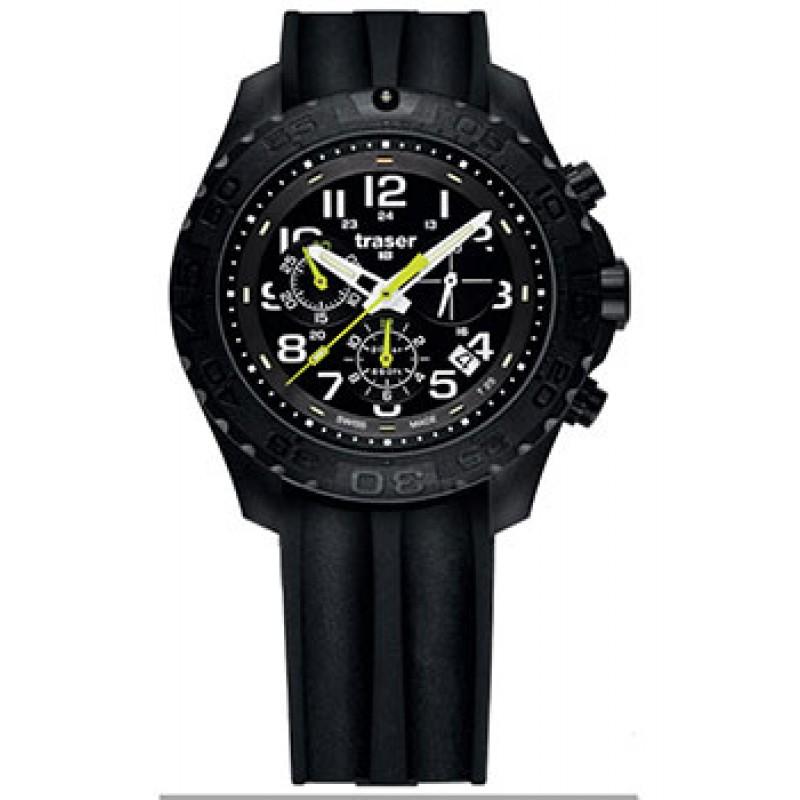 Швейцарские наручные  мужские часы Traser TR.107102. Коллекция Outdoor
