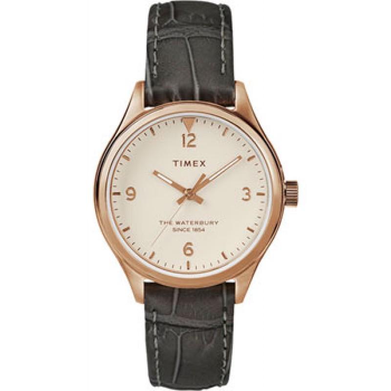 женские часы Timex TW2R69600VN. Коллекция The Waterbury