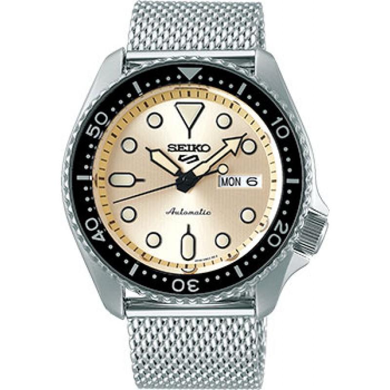 Японские наручные  мужские часы Seiko SRPE75K1. Коллекция Seiko 5 Sports