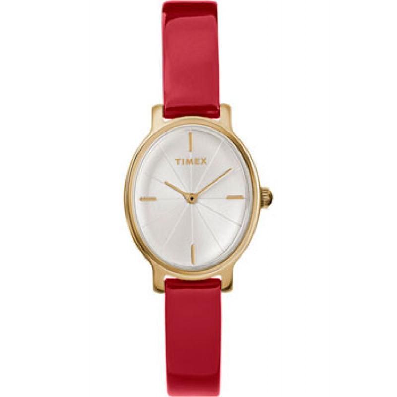 женские часы Timex TW2R94700VN. Коллекция Milano Oval