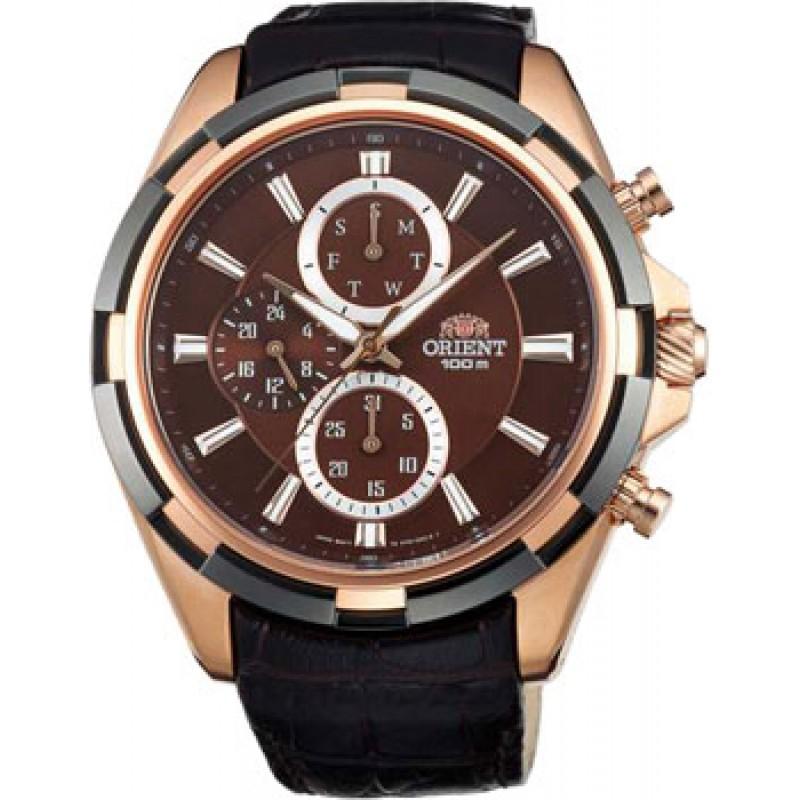 Японские наручные  мужские часы Orient UY01004T. Коллекция Sporty Quartz