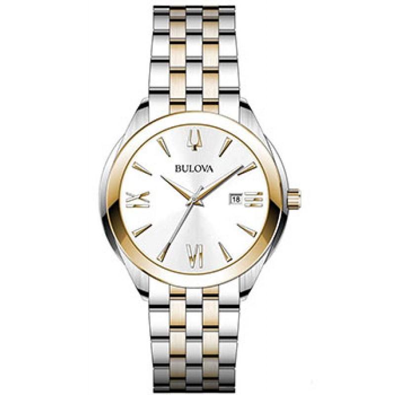 Японские наручные  мужские часы Bulova 98B331. Коллекция Classic