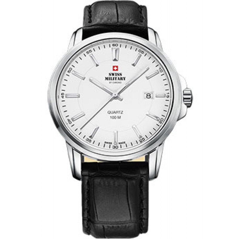Швейцарские наручные  мужские часы Swiss military SM34039.07. Коллекция Classic