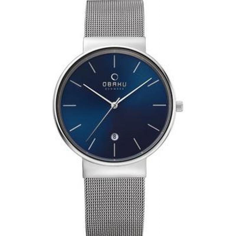 fashion наручные  мужские часы Obaku V153GDCLMC. Коллекция Mesh