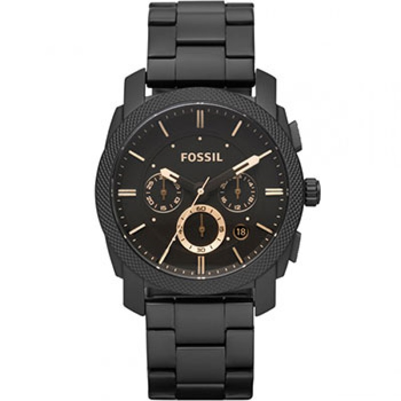 fashion наручные  мужские часы Fossil FS4682IE. Коллекция Machine