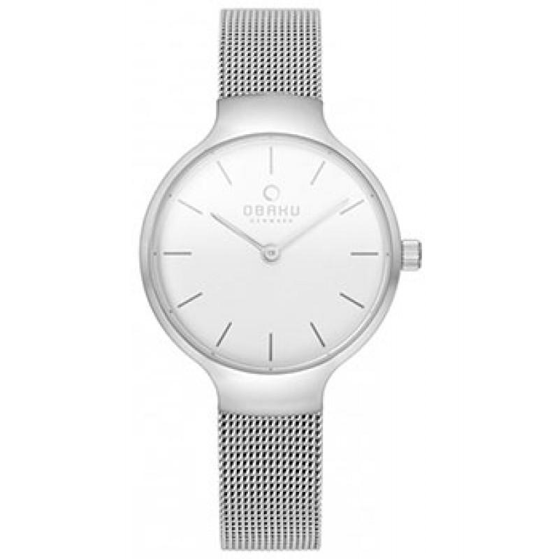 fashion наручные  женские часы Obaku V223LXCIMC. Коллекция Mesh