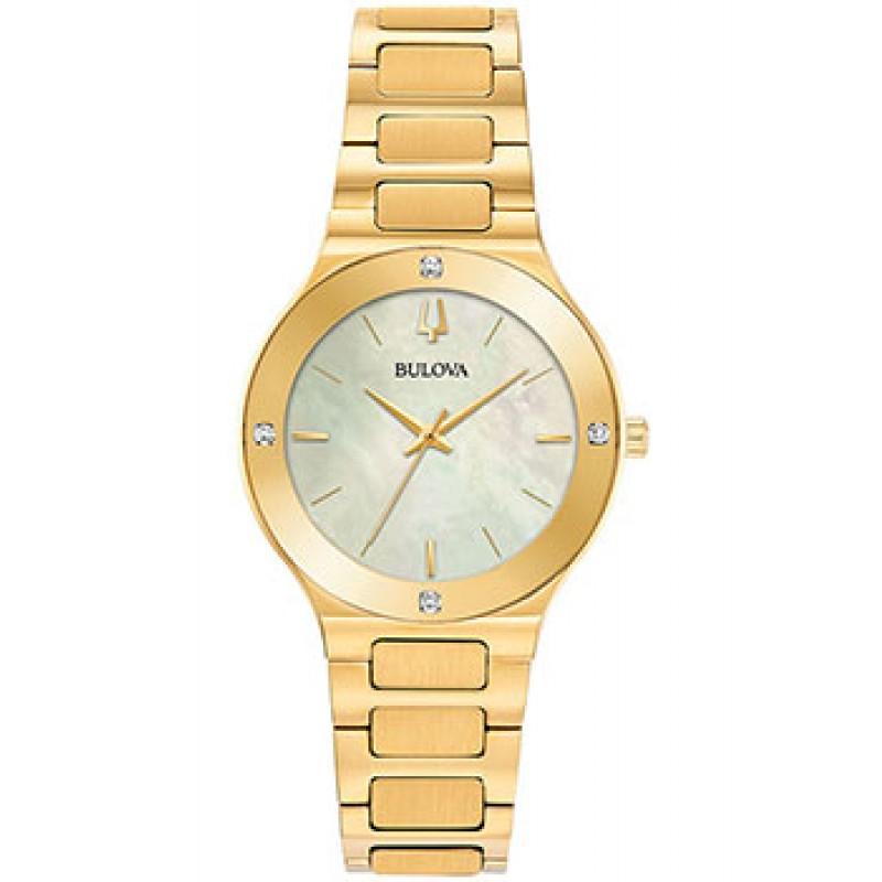 Японские наручные  женские часы Bulova 97R102. Коллекция Milennia