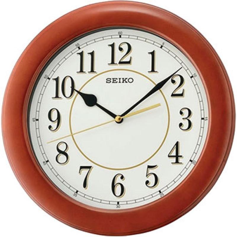 Настенные часы Seiko Clock QXA662BN. Коллекция Настенные часы