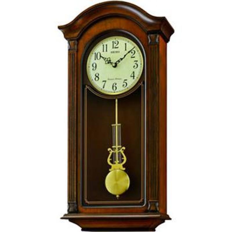 Настенные часы Seiko Clock QXH066BN. Коллекция Настенные часы