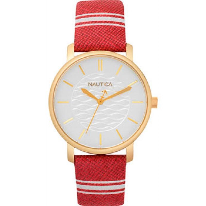 Швейцарские наручные  женские часы Nautica NAPCGS003. Коллекция Coral Gables