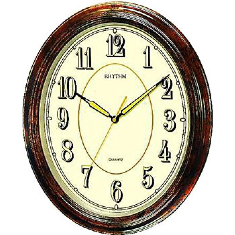 Настенные часы Rhythm CMG712NR06. Коллекция Century
