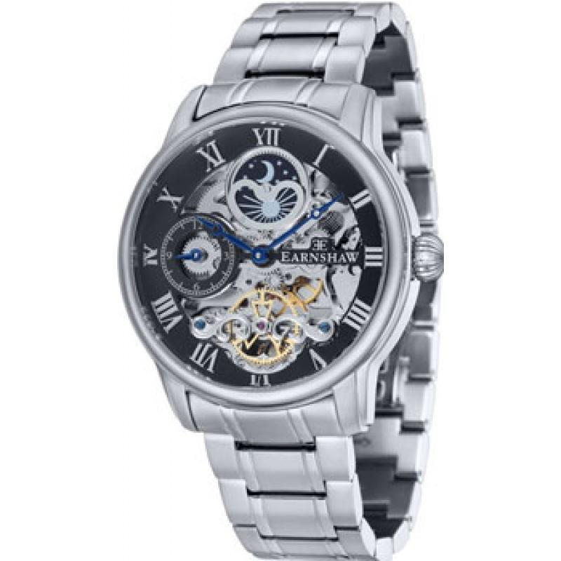мужские часы Earnshaw ES-8006-11. Коллекция Longitude