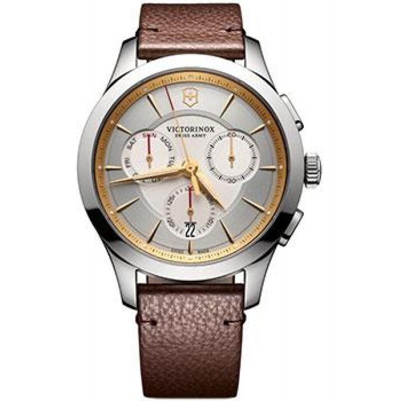 Швейцарские наручные  мужские часы Victorinox Swiss Army 241750. Коллекция Alliance