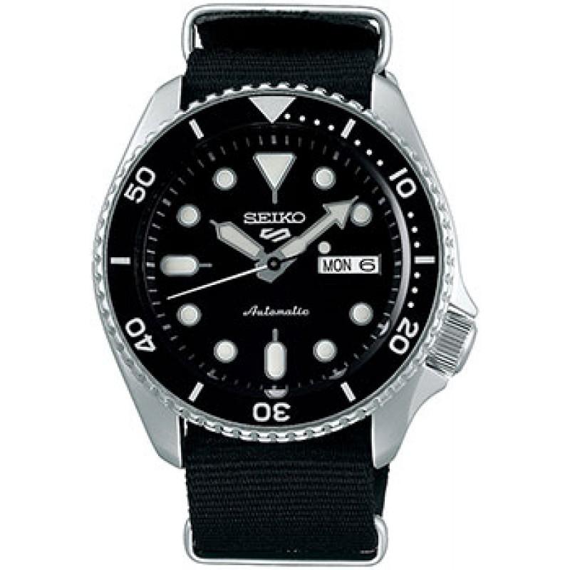 Японские наручные  мужские часы Seiko SRPD55K3. Коллекция Seiko 5 Sports